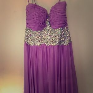 Tony Bowls Purple Gown for Pageant or Prom!